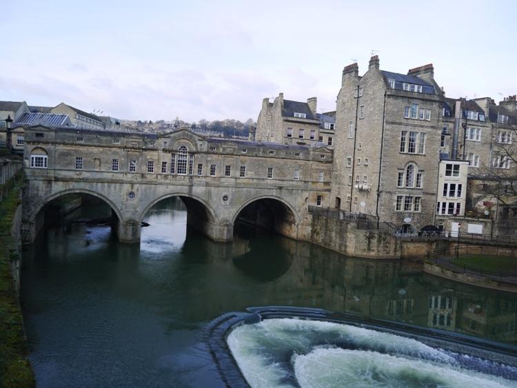 Pulteney Bridge & Weir, Bath, England