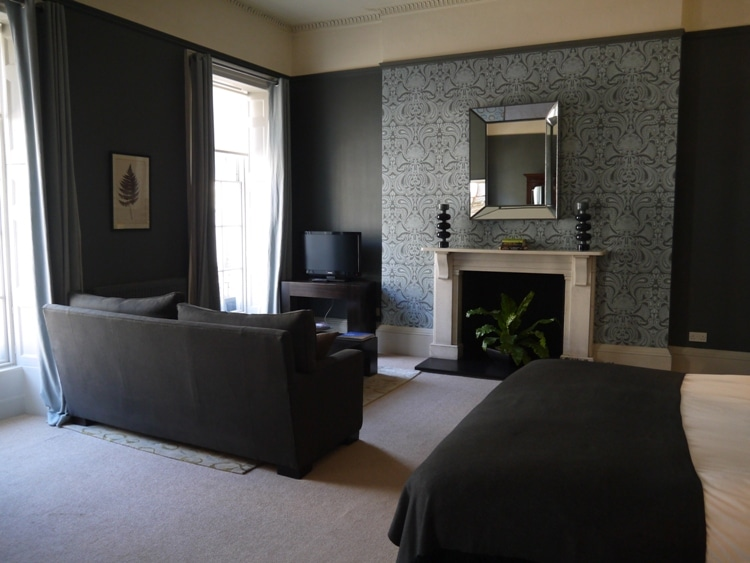 Junior Suite At The Queensberry Hotel, Bath England