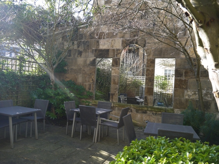 Outside Seating At Queensberry Hotel, Bath