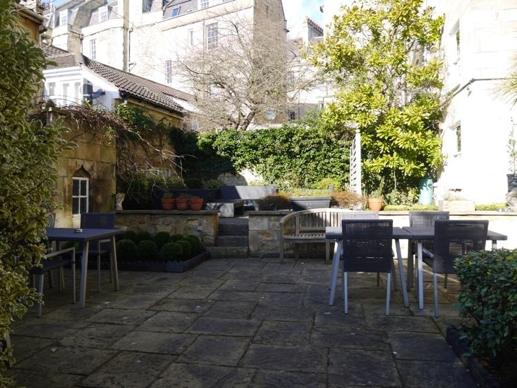 Garden Area At Queensberry Hotel, Bath