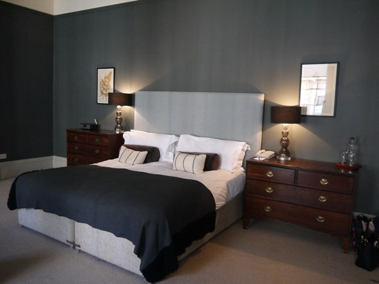 Large & Comfortable Double Bed At Queensberry Hotel, Bath