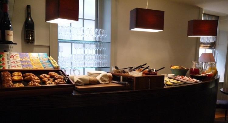 Buffet Breakfast At Queensberry Hotel, Bath