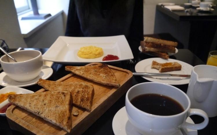 Scrambled Eggs & Toast At Queensberry Hotel, Bath