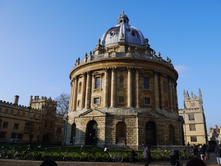 Radcliffe Camera - Part Of The Old Bank Hotel Walking Tour