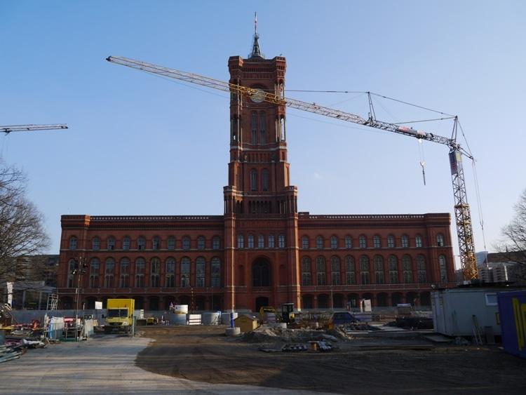 Rotes Rathaus, Alexanderplatz, Berlin