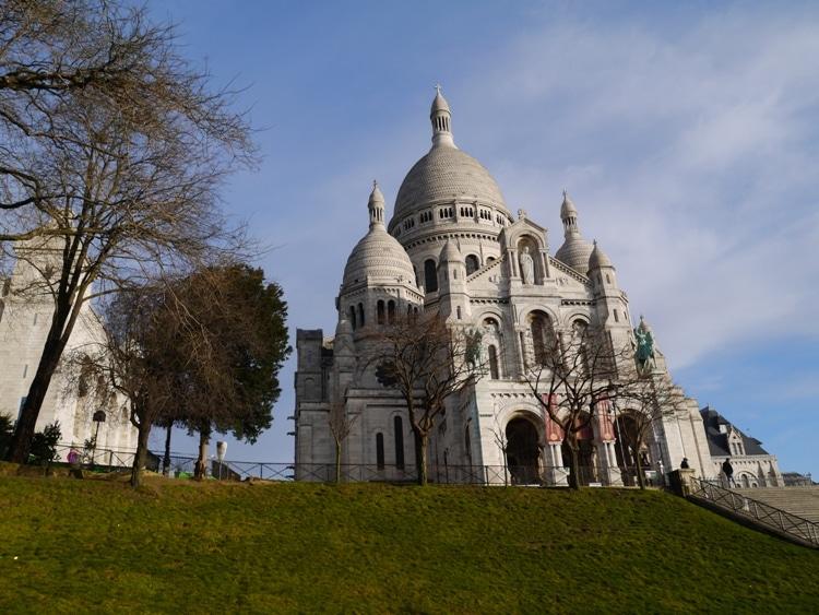 Scare Coeur Basilica, Montmartre, Paris