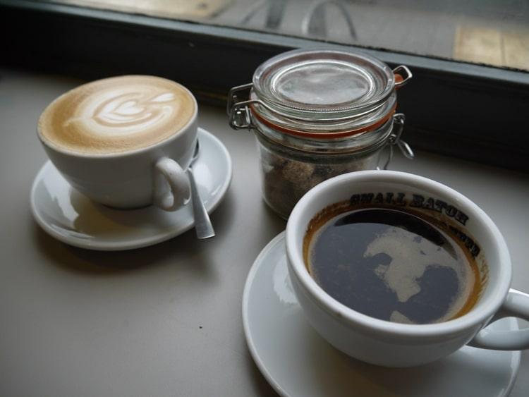 Excellent Coffee At Small Batch Coffee Company, Seven Dials, Brighton