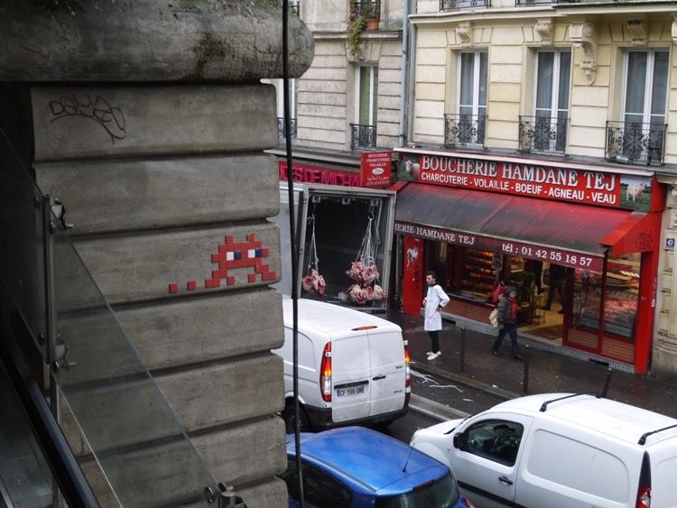 Space Invader, Barbès–Rochechouart, Paris, France