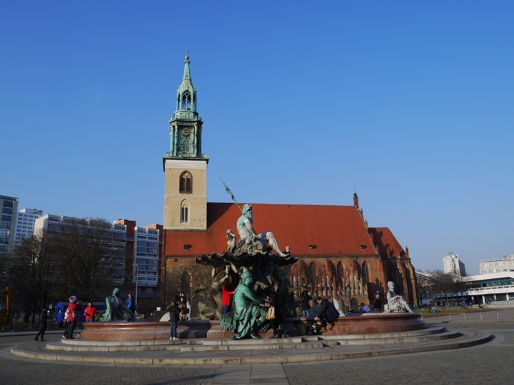 St Mary's Church, Alexanderplatz, Berlin