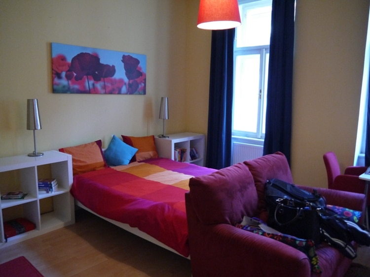 Colorful Airbnb Apartment In Prague