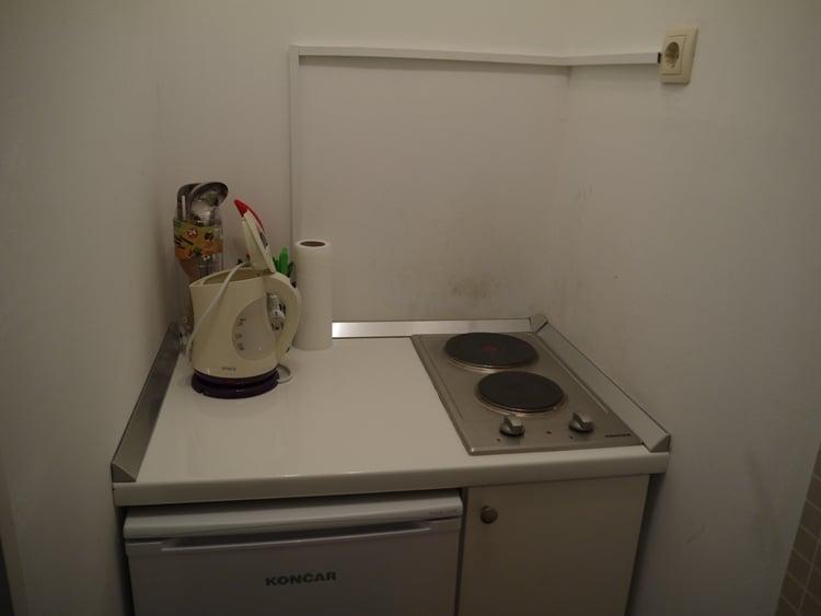 Kitchen At Airbnb Apartment In Split, Croatia
