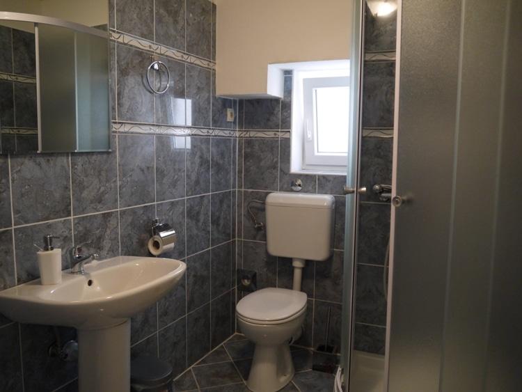 Bathroom At Airbnb Apartment In Split, Croatia