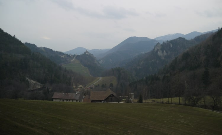 Perfect Scenery As Seen From Our Vienna To Villach Train
