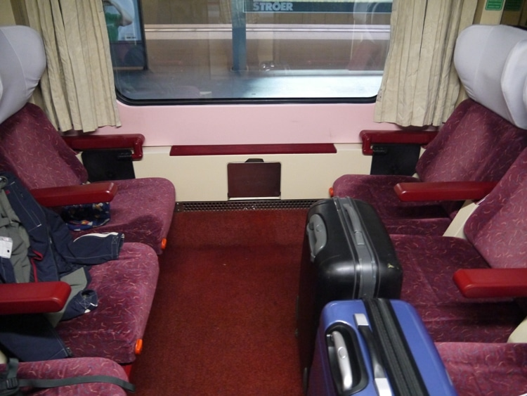 Our First Class Compartment