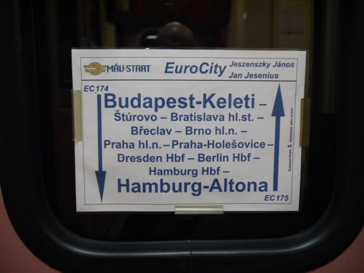Hamburg To Budapest Train
