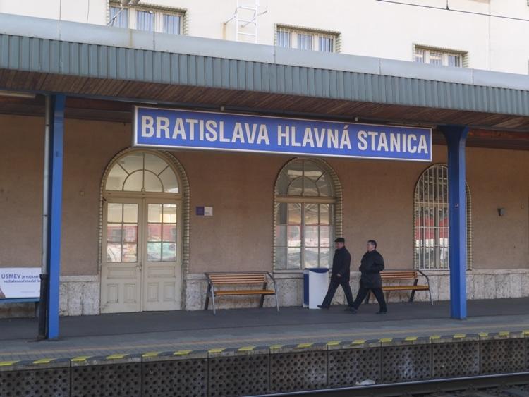 Bratislava Hlavna Stanica Station, Slovakia
