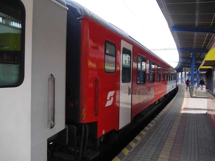 Bratislava To Vienna Train