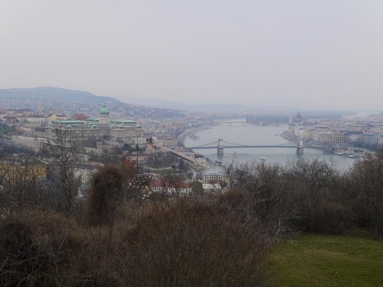 Buda Castle & River Danube, Budapest