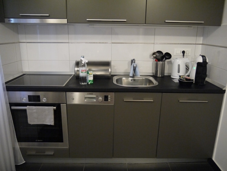 Kitchen At Divota Apartment Hotel, Split