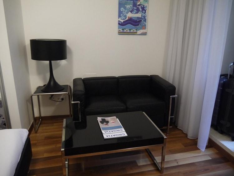 Sofa & Coffee Table At Divota Apartment Hotel, Split