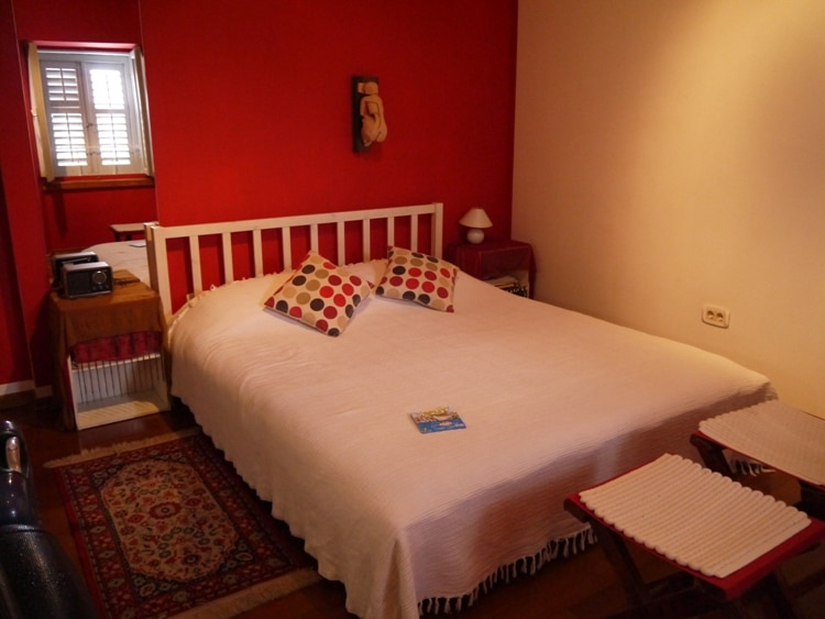 Our Comfortable Bed At Dosud Apartments, Split, Croatia