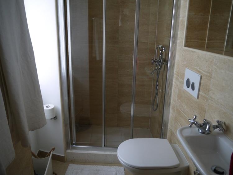 Bathroom At Dosud Apartments, Split, Croatia