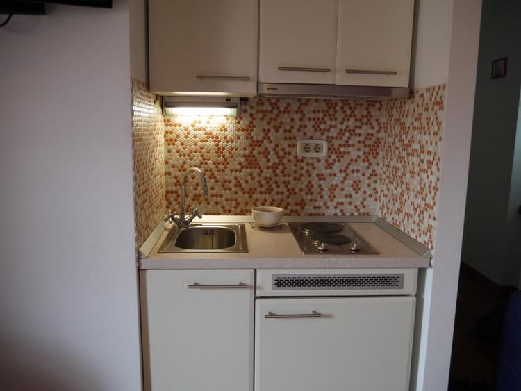 Kitchen At Dosud Apartments, Split, Croatia