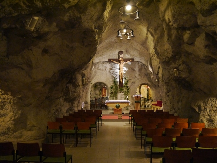 Chapel In A Cave, Budapest