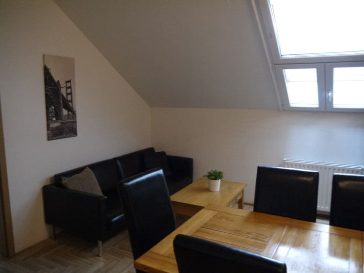 Open Plan Living Room At Gozsdu Court Apartment, Budapest