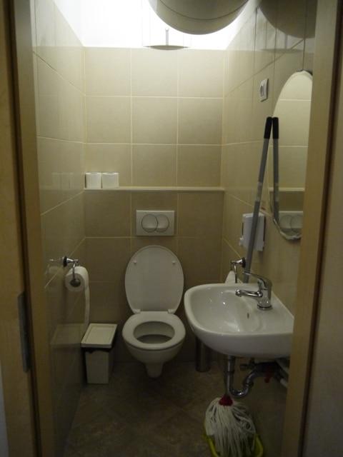 Toilet At Gozsdu Court Apartment, Budapest