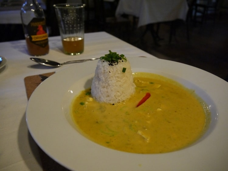 Thai Curry At LoVeg Vegan Restaurant, Prague