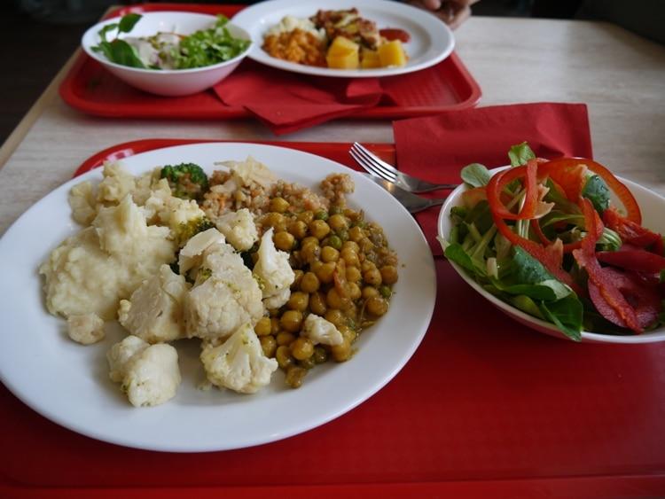Buffet Lunch At Loving Hut, Ljubljana, Slovenia