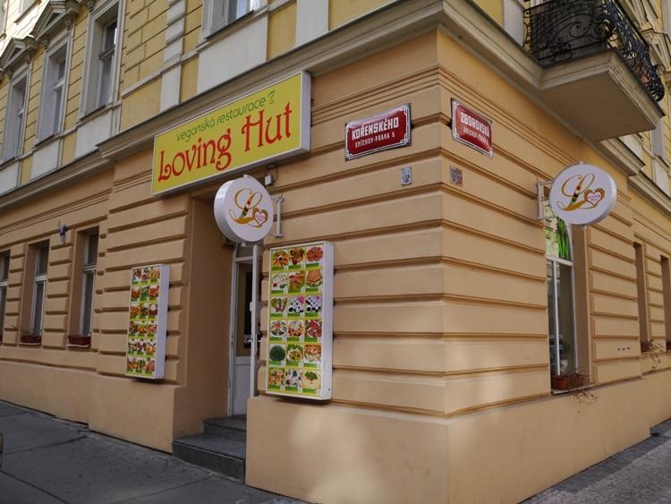 Loving Hut, Zborovska, Prague