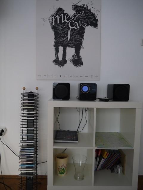 Hi-Fi & CDs At Main Square Apartment, Zagreb
