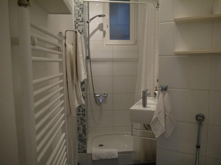 Bathroom At Main Square Apartment, Zagreb