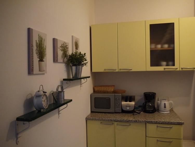 Kitchen At Main Square Apartment, Zagreb