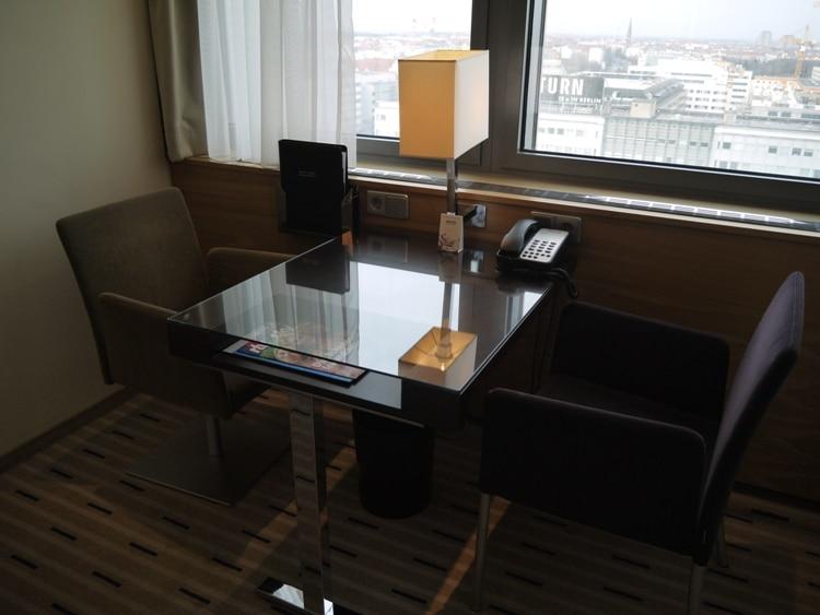 Desk & Chairs At Park Inn, Alexanderplatz, Berlin