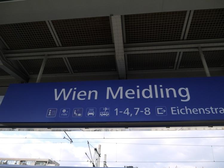 Vienna Meidling Station
