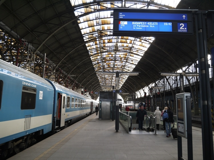 Prague Station (Praha Hlavni Nadrazi)