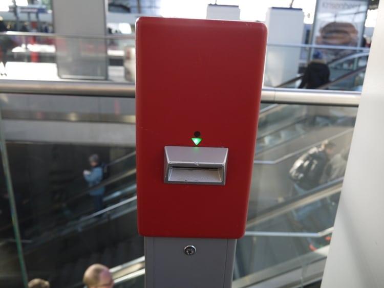 Ticket Validation Machine, Berlin
