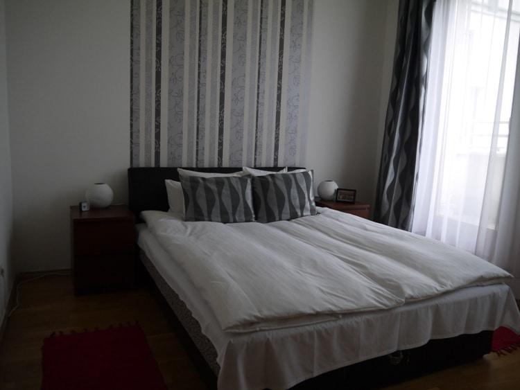 Bedroom At Senator Apartments, Budapest