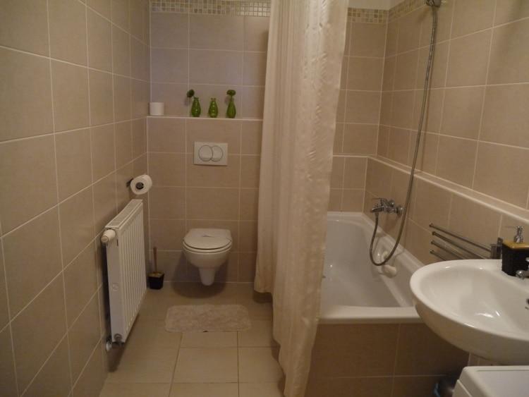 Bathroom At Senator Apartments, Budapest
