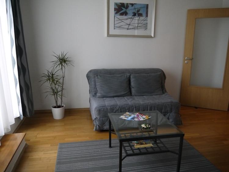 Living Room At Senator Apartments, Budapest