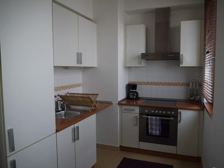 Kitchen At Senator Apartments, Budapest