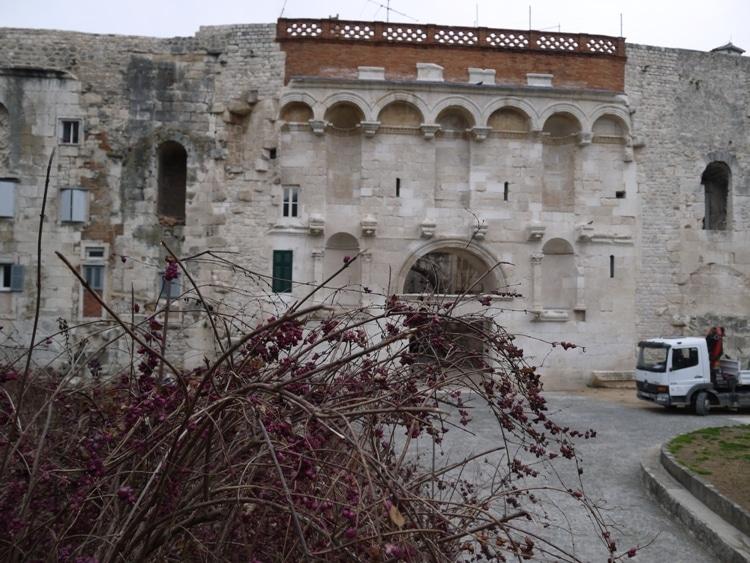 Restored Palace Walls, Split