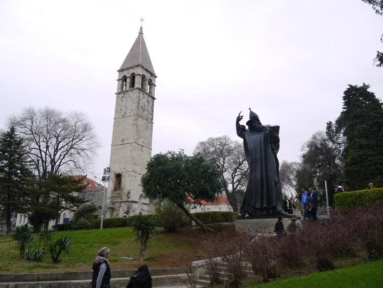 Grgur Ninski Statue, Split