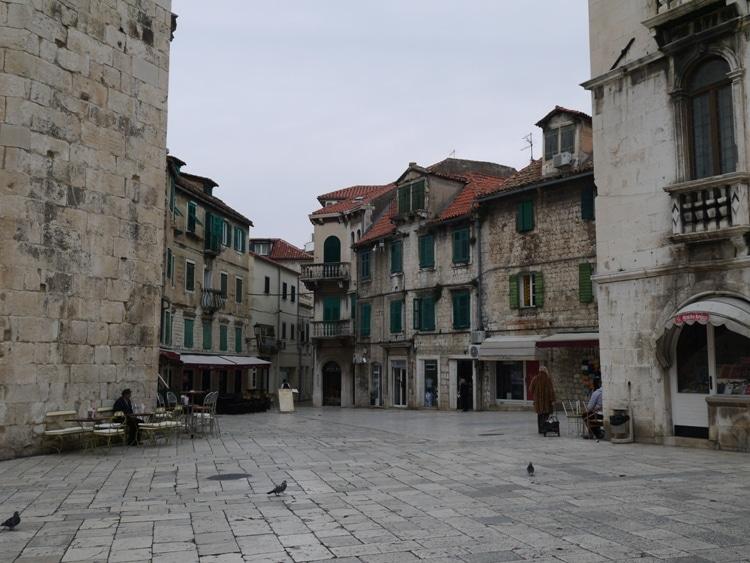A Small Square In Split