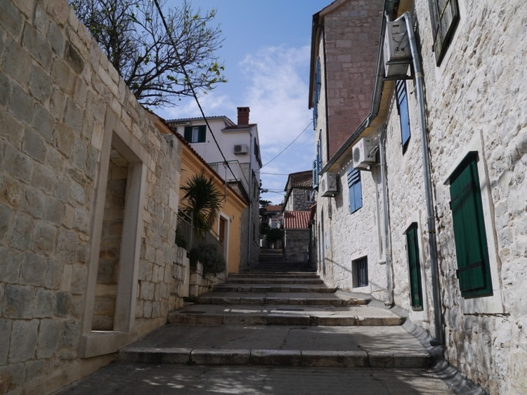Steps On The Way To Marjan Hill