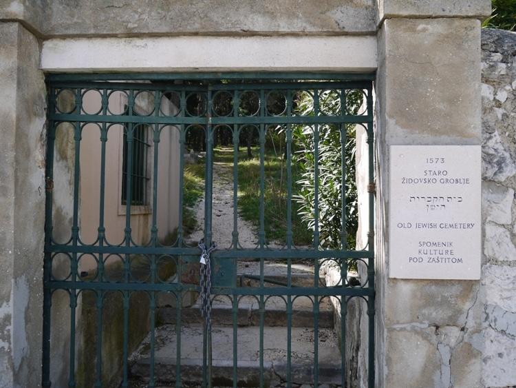 Old Jewish Cemetery, Marjan Hill, Split