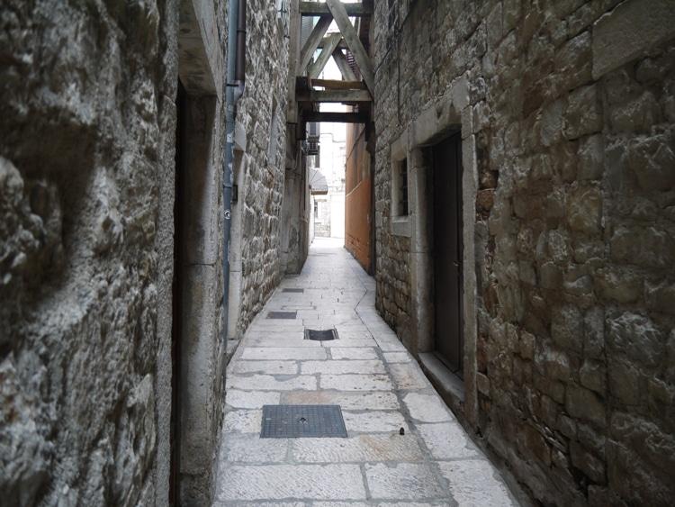 The Narrow Streets Of Split